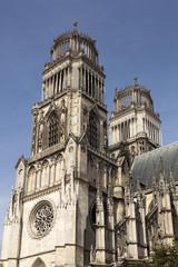 Orleans cathedral, Loiret, Centre, France