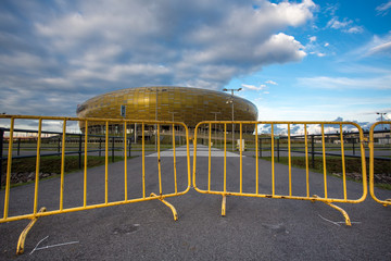 Arena Football Stadium in Gdansk, Poland