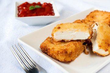 Fried feta