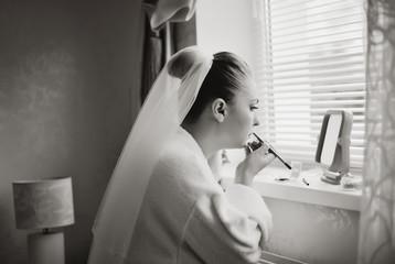 caucasian bride