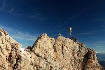 Gipfel der Zugspitze