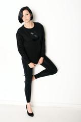 junge Frau mit High Heels