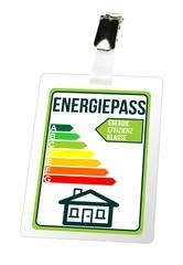 Energiepass - Anhänger