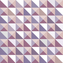 Geometrical pattern with triangles,  seamless vector background.