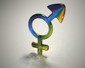 Obraz transgender symbol - fototapety do salonu
