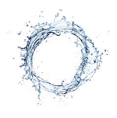 Water splash circle