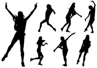 Girls at dance