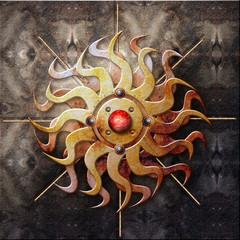 Wall Murals Imagination Alchemy series - Sol niger.