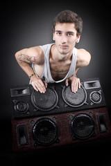 Mann liebt Musik