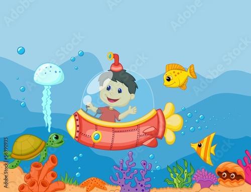 мультфильм о подводных лодках