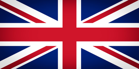 UK Flag vignetted