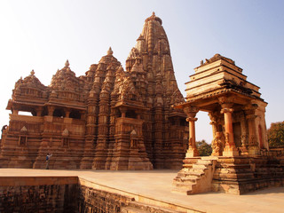 Temples in Khajuraho, India
