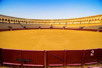 Bullfight arena (Plaza de toros de la Real Maestranza) Sevilla.