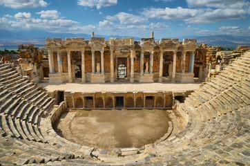 Hierapolis theater 2013