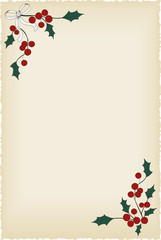 Christmas blank vintage background.