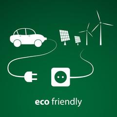 Eco Energy - Vector Illustration
