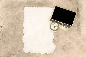 Vintage background letter old watch pictures