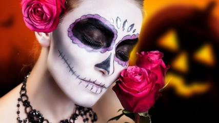 Día de los Muertos (Tag der Toten), MakeUp