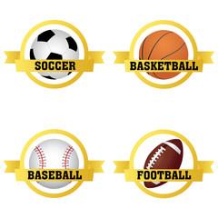 sports labels