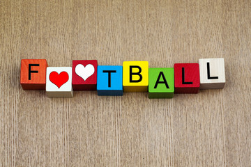 Football - sign