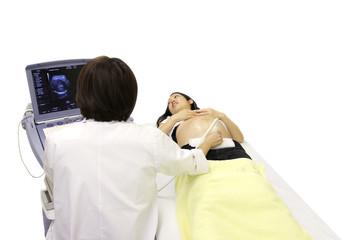 妊婦のエコー検査