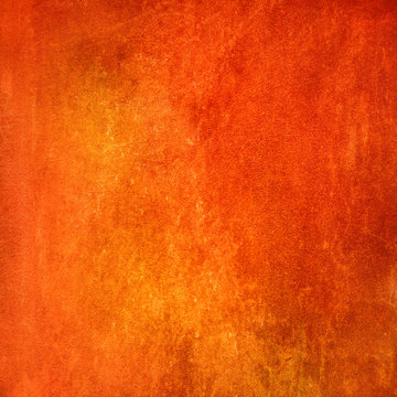 Abstract orange grunge texture for background