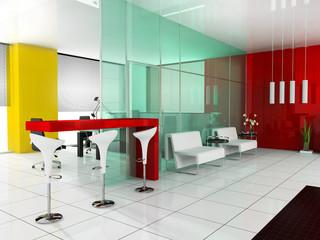 Bar in a modern interior