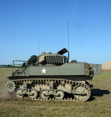 Wall Mural - Old American tank