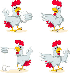 hens cartoon collection