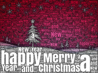 word picture Merry Christmas