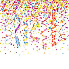 7 Streamers & Confetti Stars Color Mix