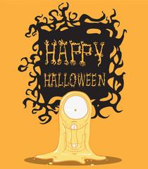 Ghost. Halloween monster