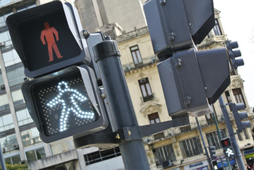 Semaphore traffic light