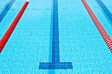 Lane in swimming pool