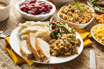 Homemade Turkey Thanksgiving Dinner