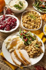 Homemade Turkey Thanksgiving Dinner