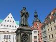 Lutherstadt Eisleben – Luther Denkmal
