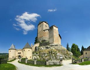 The castle of Rappottenstein in Waldviertel, Lower Austria