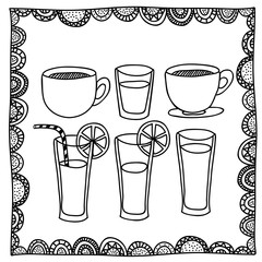 drinks drawing