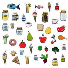food drawing