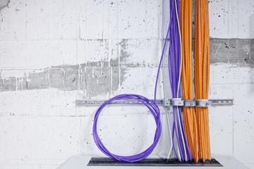 EDV-Raum Computer Kabel Netzwerk
