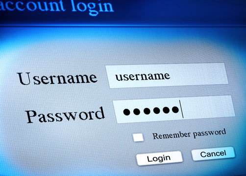 account login sequence