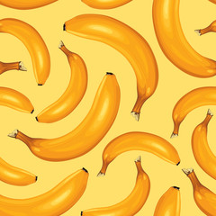 Bananas seamless pattern