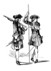 Militaria : Infantry - 18th century
