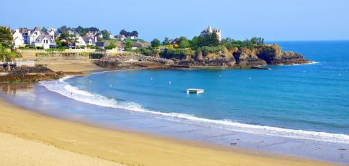 plage de saint-quay-portrieux Fototapete