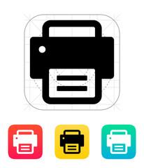 Text print icon.