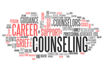 "Word Cloud ""Counseling"""