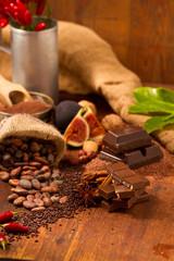 Fototapete - Schokolade