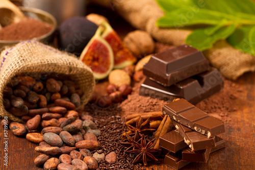 Fototapete Schokolade