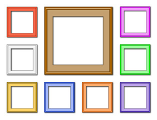 modern frame-square